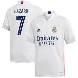 Real Madrid Eden Hazard Home Jersey